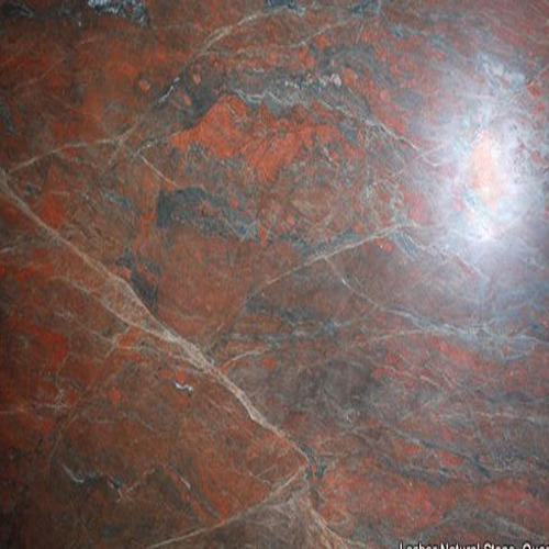 Straight Red Granite Stone