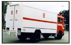 Explosive Van