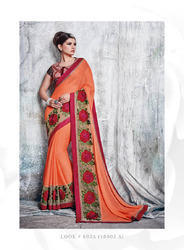 Fancy Indian Stylish Designer Sarees