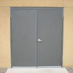 Galvanized Steel Flush Doors & Galvanized Steel Flush Doors - Exporter from Ahmedabad