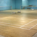 Laminated Badminton Flooring