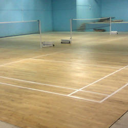 Laminated Badminton Flooring