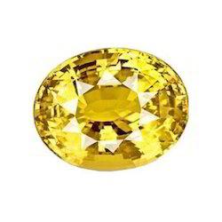 Natural Yellow Sapphire Gemstone