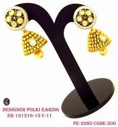 Antique Fancy Long Pearl Earring