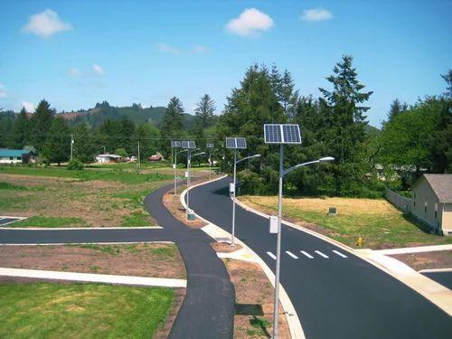 Solar Highway Lighting System