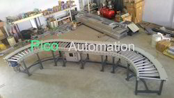 180 Degree Power Roller Conveyor