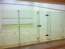Squash Court Air Crush Wooden Flooring
