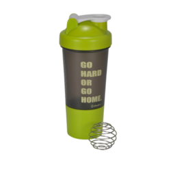 Alpha Green Shaker Bottle