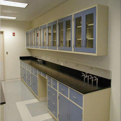 Laboratory Furniture Manufacturer From Mumbai - Lab storage cabinets