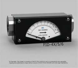 Dial Type Flow Rate Indicator