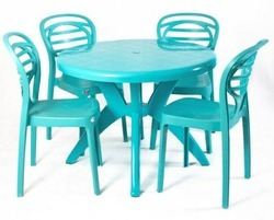 Plastic Chair & Table
