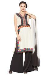 Styling Indian Pakistani Style Long Suit with Palazzo Pants