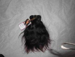 Machine Weft Wavy Indian Hair