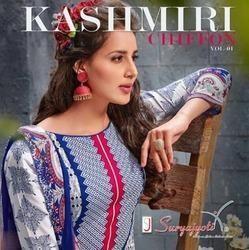 Suryajyoti Kashmiri Chiffon- 1 Suit
