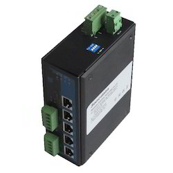 Industrial Ethernet Switch(5TP 2RS-485) Serial Device Server