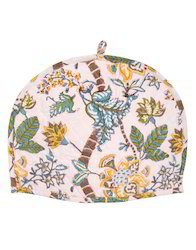Machine Quilted Printed Tea Cosy