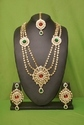 White Pearl Kundan Necklace