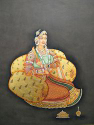 Mughal Lady Painting
