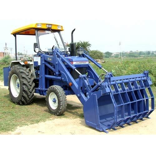 Loader High Dump with Cotton Bucket
