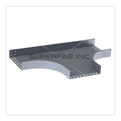 Perforated Cable Tray Horizontal Tee