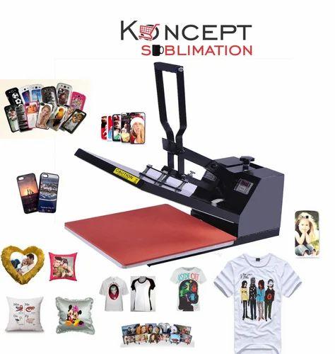 T - Shirt Transfer Printing Machine  - 2D Heat Press Machine