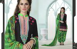 Embroidered Party Were Patiala Suit