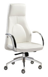 White Premium High Back Chair