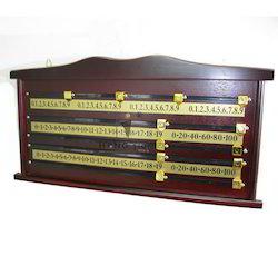 Wooden Score Board