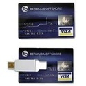 Credit Card Shaped Pen Drive