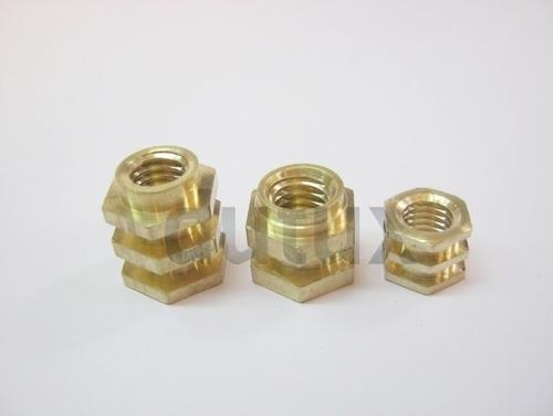 Brass Rotation Insert Nut