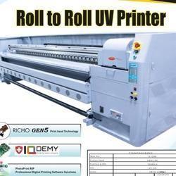 UV Roll to Roll Inkjet Printer