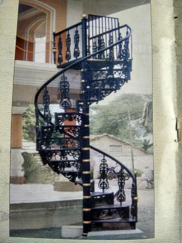 Exceptional Cast Iron Staircase Spiral Manufacturer From