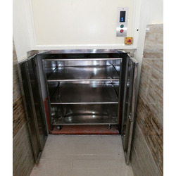 Dumbwaiter With Detachable Cabin