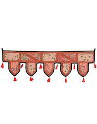 Wall Decor Sequins Work Cotton Patchwork Door Hangings