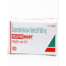 Ocuvir Dispersible Tablets - 800mg