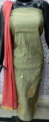 Aaditri Chanderi Gota Patti Dress Material