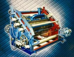 Fingerless Single Face Paper Corrugation Machine