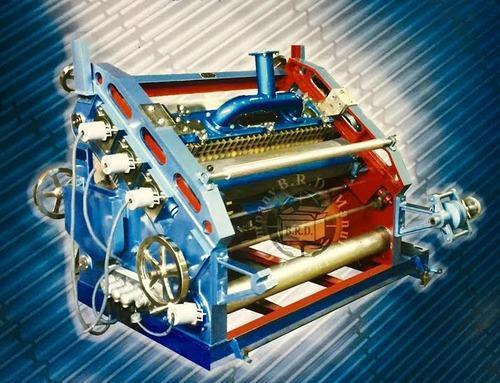 Fingerless Single Face Paper Corrugation Machine