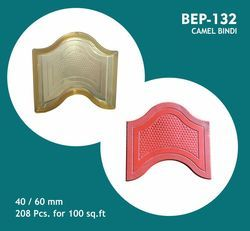 PVC Moulds for Camel Hump Bindi