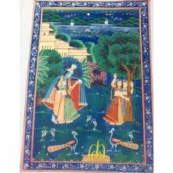 Painting of Krishna & Radha