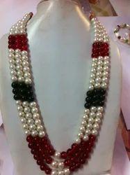 Multi Colored Pearl Neckpiece