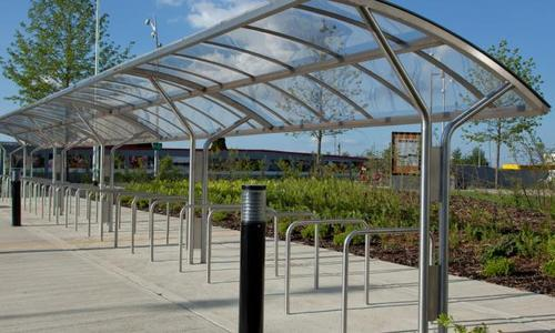 Stainless steel bus shelter manufacturer from noida