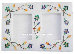 Marble Inlay Photo Frame