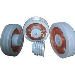 Industrial CI Groove Pulley