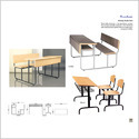 Sharing Study Desk Combo / Edu 26