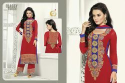 Georgette Kameez with Palazzo