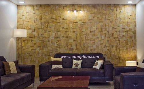 Living Room Stone Cladding