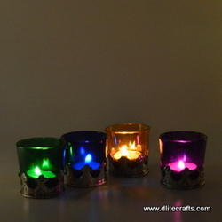 Glass Candle Votive
