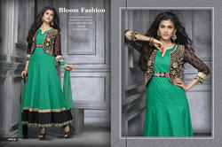 Jacket Style Anarkali Suit