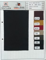 Memory Heavy Twill Fabric